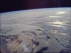 apollo 11 above atmosphere